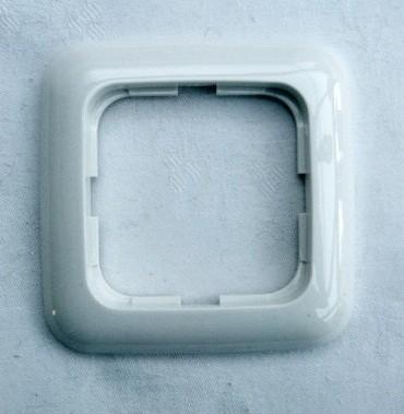 busch jaeger 2511 2 abdeckrahmen 1fach rahmen wei ebay. Black Bedroom Furniture Sets. Home Design Ideas