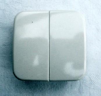 busch jaeger 2504 21 wippe doppelwippe geschlossen crem ebay. Black Bedroom Furniture Sets. Home Design Ideas