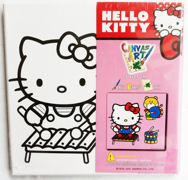 hello kitty malbild
